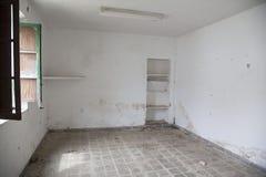 Lugar abandonado foto de stock