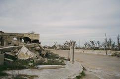 Lugar abandonado em Buenos Aires Fotografia de Stock