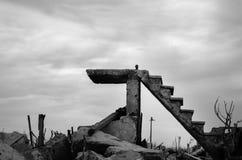 Lugar abandonado em Buenos Aires Imagem de Stock Royalty Free