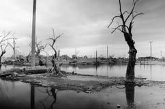 Lugar abandonado em Buenos Aires Fotos de Stock
