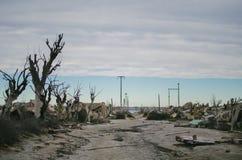 Lugar abandonado em Buenos Aires Imagens de Stock