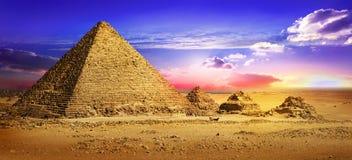 Lugar abandonado em Giza Foto de Stock
