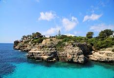 Lugar agradável do mar Fotos de Stock Royalty Free