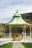 Lugar al aire libre de la boda Imágenes de archivo libres de regalías