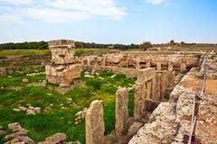 Lugar antiguo Amrit de Siria - de Tartus Imagen de archivo libre de regalías