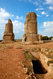 Lugar antiguo Amrit de Siria - de Tartus Imagenes de archivo