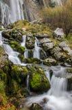 Lugar carregado rio de Ason em Cantábria imagem de stock royalty free