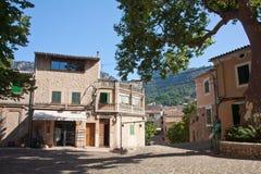 Lugar central de Valdemossa Fotografía de archivo