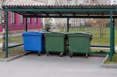 Lugar correcto para el garbag foto de archivo libre de regalías