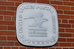 Lugar da esta??o de correios de USPS O USPS ? respons?vel para fornecer a entrega de correio II fotos de stock