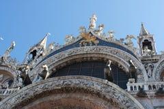 Lugar da marca de Saint em Veneza Fotos de Stock