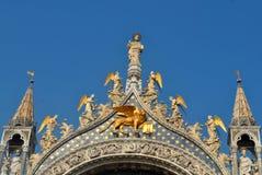 Lugar da marca de Saint em Veneza Imagens de Stock Royalty Free