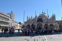 Lugar da marca de Saint em Veneza Imagens de Stock