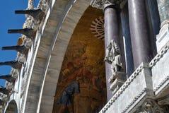 Lugar da marca de Saint em Veneza Fotos de Stock Royalty Free
