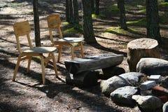 Lugar de acampamento Imagens de Stock Royalty Free