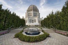 Lugar de alabanza de Baha'i Fotos de archivo libres de regalías