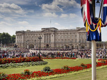 Lugar de Buckingham Foto de Stock Royalty Free