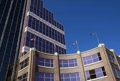 Lugar de Canadá, Edmonton fotos de stock