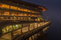 Lugar de Canadá en la costa, Vancouver imagen de archivo libre de regalías