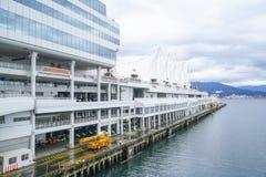 Lugar de Canadá en Vancouver - VANCOUVER - CANADÁ céntricos - 12 de abril de 2017 Imágenes de archivo libres de regalías