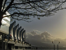 Lugar de Canadá - Vancouver Fotos de archivo