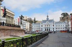 Lugar de Chile de la armada en Valparaiso, Chile fotografía de archivo libre de regalías