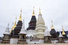 Lugar de culto bonito com ensinos religiosos em Chiangmai imagens de stock royalty free