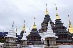 Lugar de culto bonito com ensinos religiosos em Chiangmai foto de stock