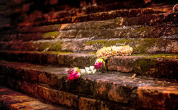 Lugar de culto del paquete de la guirnalda o del jazmín de la boda fotografía de archivo libre de regalías
