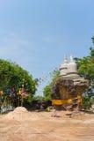 Lugar de culto ese stupa en la colina de piedra Imagenes de archivo