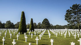 Lugar de descanso americano en Europa Fotografía de archivo libre de regalías