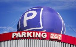 Lugar de estacionamento Imagens de Stock