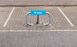 Lugar de estacionamento para o carro para o aluguel Imagens de Stock Royalty Free