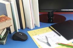 Lugar de funcionamento do coordenador e do colaborador da instrumentação foto de stock royalty free