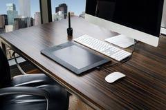 Lugar de funcionamento do escritório Fotografia de Stock Royalty Free