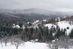 Lugar de Garana del invierno Imágenes de archivo libres de regalías