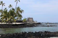 Lugar de Havaí do refúgio imagem de stock