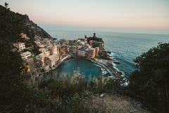 Lugar de Italie - Manorola fotos de stock royalty free