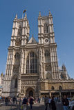 Lugar de la abadía de Westminster para la boda real Foto de archivo libre de regalías