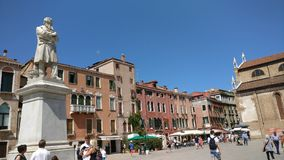 Lugar de la belleza de Venecia Italia Foto de archivo libre de regalías