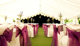 Lugar de la boda Imagen de archivo libre de regalías