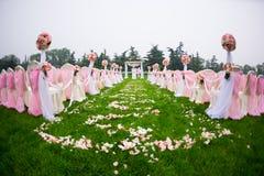 Lugar de la boda Fotos de archivo libres de regalías