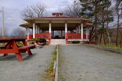 Lugar de la comida campestre Imagen de archivo libre de regalías