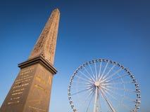 Lugar de la Concorde em Paris, França Imagens de Stock