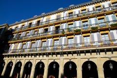 Lugar de la constitución de San Sebastian Fotos de archivo