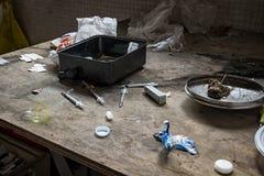 Lugar de la droga foto de archivo libre de regalías