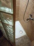 Lugar de la ducha Fotografía de archivo