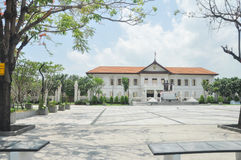 Lugar de la estatua de tres reyes Imagen de archivo