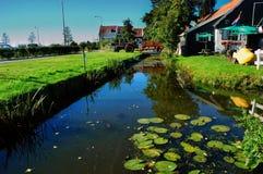 Lugar de la paz, Marken, Países Bajos fotografía de archivo libre de regalías