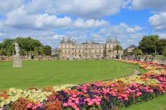 Lugar de Luxembour en París Foto de archivo libre de regalías